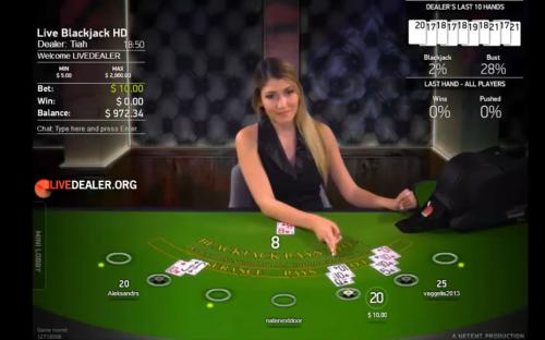 NetEnt live kasinot
